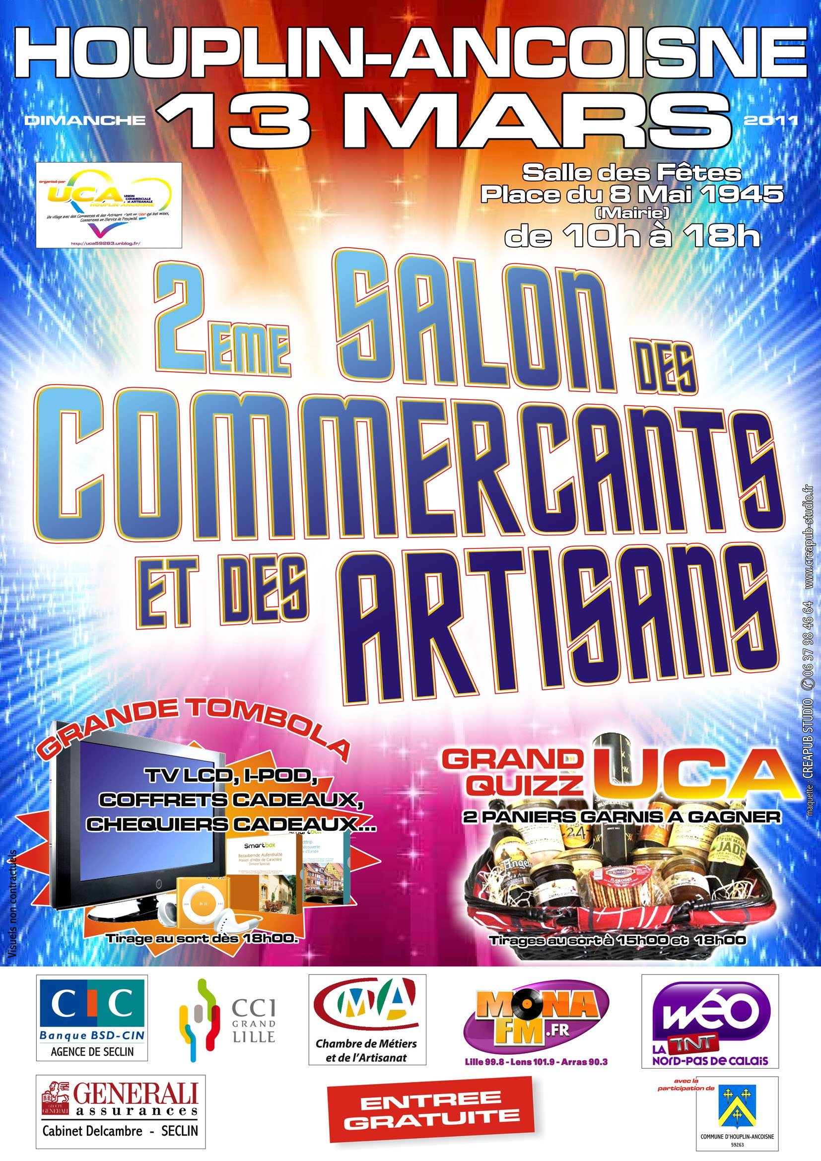 Union commerciale et artisanale union commerciale et for Salon artisanal